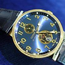 Ulysse Nardin Maxi Marine Blue Dial Diamond Steel and Rose...
