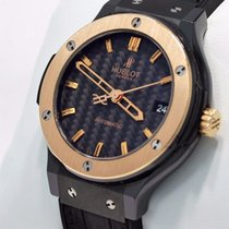 Hublot Classic Fusion Ceramic King 18k Rose Gold 38mm Carbon...