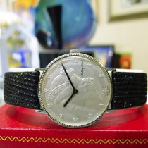 Tissot Liberty Head Coin Dial Sterling Silver Watch
