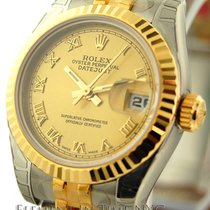 ロレックス (Rolex) Datejust Stee / Yellow Gold Champagne Dial 26mm