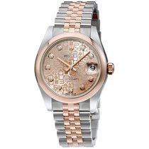 Rolex Datejust, Ref. 178241 - rosa Jubi Diamant ZB/Jubileeband