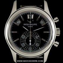 パテック・フィリップ (Patek Philippe) Platinum Black Dial Annual...