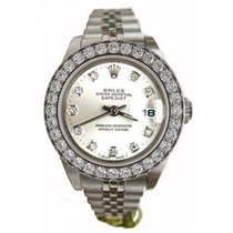 Rolex Datejust Lady's Stainless Steel Jubilee Band with...