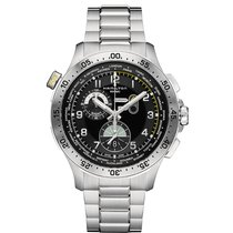 Hamilton Worldtimer Chrono Quartz Herrenuhr H76714135