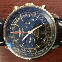 Breitling Navitimer 01 46mm red gold limited edition black dial