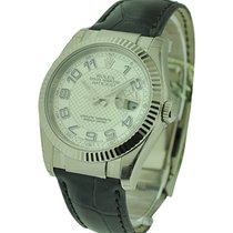 Rolex Unworn 116139_sil_arabic_dial Mens Datejust - White Gold...