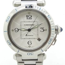 Cartier Pashà Automatic 38 mm Men's Size Steel Mint...