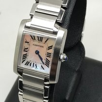 Cartier Tank Francaise Mother Of Pearl Dial
