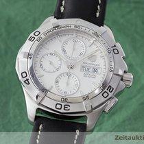 TAG Heuer Aquaracer Chronograph Stahl Automatik Herrenuhr Caf2011