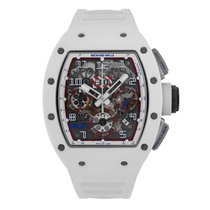 Richard Mille Asia Exclusive White NTPT Carbon Chronograph...