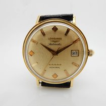 Longines Admiral 5 Star Automatic Cal 505 18K Yellow Gold...