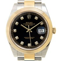 勞力士 (Rolex) Datejust Gold And Steel Black Automatic 126303GBK_O