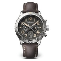 Breguet Type XXI Automatic Flyback Chronograph Slate Grey Dial...