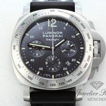 Panerai Luminor Daylight Stahl PAM 250 Chronograph Automatik