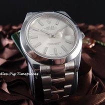 勞力士 (Rolex) 116300 Datejust II Silver Dial Smooth Bezel [N E W]
