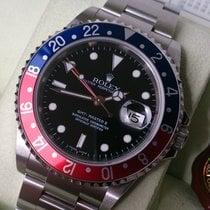 ロレックス (Rolex) GMT II ST Ref 16710 ++Cal 3186++Rectangular++ B...