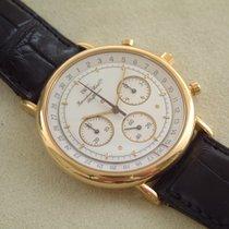IWC Portofino 18 Karat Gelbgold Chronograph 35 mm Top Zustand