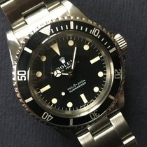 Rolex 1977 Submariner 5513 Seriph Dial Box And Punched Papers...