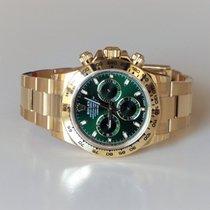Rolex Daytona Green 116508 - 2017 Oanvänd