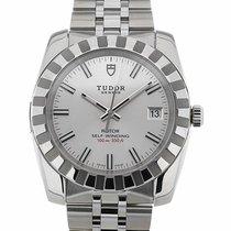 Tudor Classic 38 Date Silver Dial