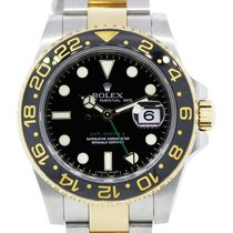 Rolex GMT Master II 116713 Two Tone Gents Watch