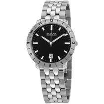 Bulova Accutron Ii Black Dial Men's Watch 96b207