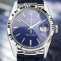 Rolex Swiss Made 16014 Quickset 18K SS Oyster Perpetual 1982...