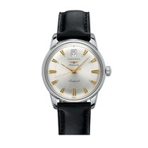 Longines Heritage Classic Stainless Steel Automatic Mens Watch...
