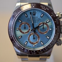 Rolex Daytona Steel Ceramic Bezel Platinum Conversion Kit