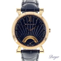 Bulgari -  Sotirio Retrograde Date Rose Gold NEW
