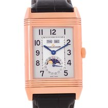 Jaeger-LeCoultre Grande Reverso Calendar 18k Rose Gold Watch...