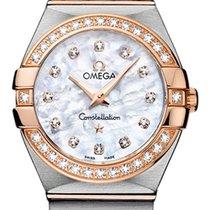 Omega Constellation Brushed 27mm 123.25.27.60.55.001