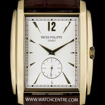 Patek Philippe 18k Y/G Opaline-White Dial Gondolo Gents...