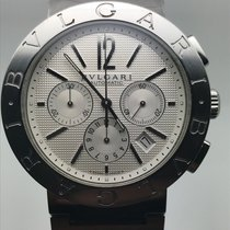 Bulgari DIAGONO 42MM CHRONOGRAPH AUTOMATIC SILVER DIAL