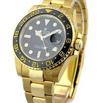Rolex Unworn 116718 ALL GOLD GMT - Master II - 116718 - Black...