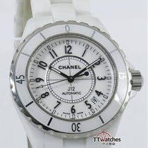 Chanel J12 White Ceramic H0970 Automatic Box Papers
