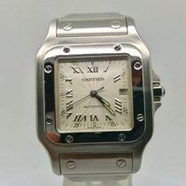 Cartier Santos Galbee 2319 Automatic 28mm Silver Dial Watch...