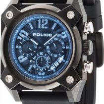 Police HELLCAT PL.14690JSUB/02AP Herrenchronograph 2. Zeitzone