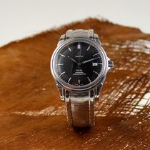 Omega DeVille Co-Axial Chronometer Automatic Stahl