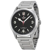 Tudor Heritage Ranger Black Dial Stainless Steel Men's...