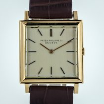 Patek Philippe 3490, Mens, 18K Yellow Gold, Year 1966, Leather...