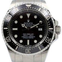 Rolex Deepsea 116660 44mm Black Stainless Steel Sea Dweller...