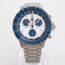 TAG Heuer Pilot 530.806 K Full set Box & Papers blue bezel