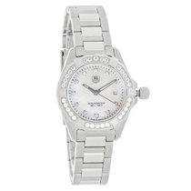 TAG Heuer Aquaracer Diamond Ladies Swiss Quartz Watch WAY1414....