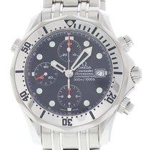 Omega Seamaster Chronograph 2598.80.00 W/ Card