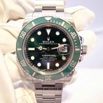Rolex Submariner Date Green Dial Ceramic Bezel - 116610LV