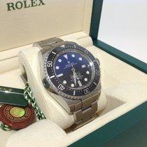 Rolex Sea-Dweller Deepsea D Blue James Cameron Full Set