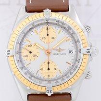 Breitling Chronomat Stahl/Gold Automatik Chronograph grey gold...