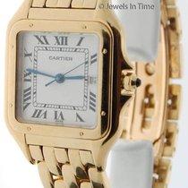 Cartier Large Panthere 18k Yellow Gold Quartz Mens Watch