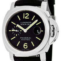 Panerai Luminor Marina Automatic Black Dial Men Swiss Watch...